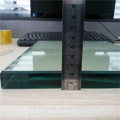 广东玻璃深加工厂 供应22mm超厚钢化玻璃 3C认证 价格优惠