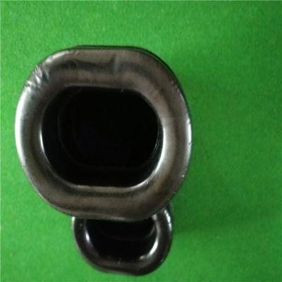 厂家长期供应硅胶皮耳套 高周波热压椭圆形蛋白皮耳帽 量大价优