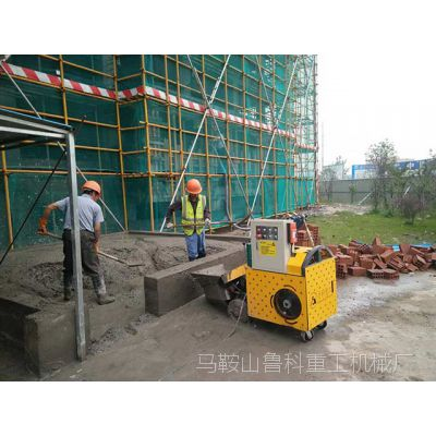 二次构造柱砼泵需要做好哪些方面的维护