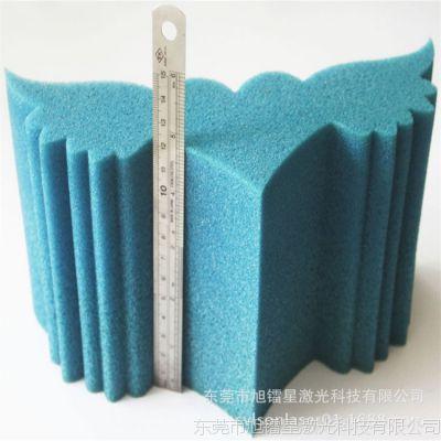 高端家具包装材料海绵布激光切割机服装包装棉20CM不发黄雕刻机