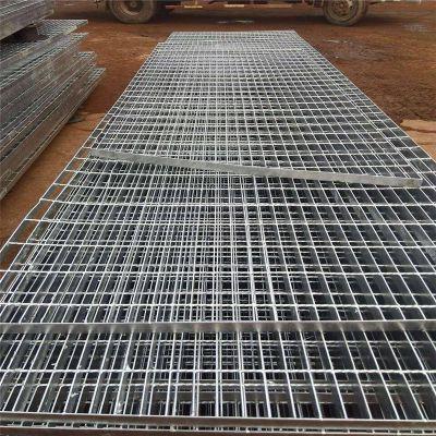 银川钢格板 钢格板g405 镀锌格栅板生产厂家