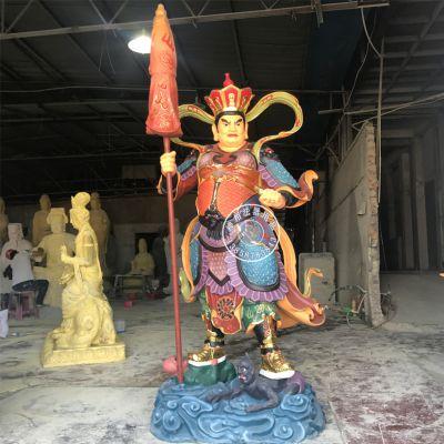 温州佛教四大天王佛像 雕塑树脂神像厂家直销