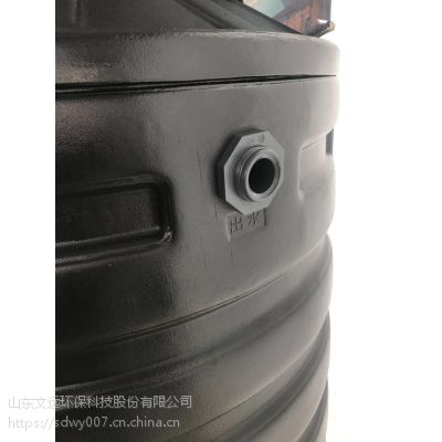 生活污水处理设备_PE微生物污水处理桶