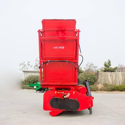肇源自卸式玉米秸秆回收机 小型玉米秸秆回收机二次粉碎效果好