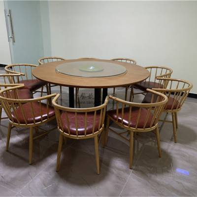 黔南州素食店圆桌椅子批发,素食馆家具定做