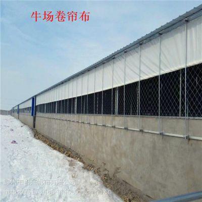 框架猪场保暖设备 定做猪栏卷帘帆布 PVC帆布卷帘 耐用性8-10年