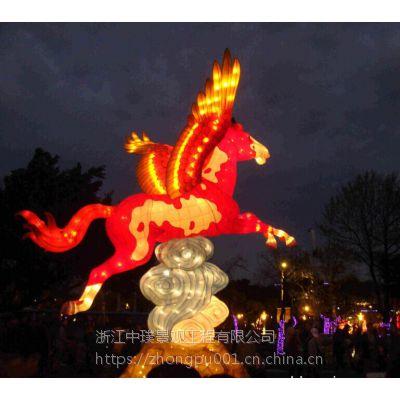 中璞花灯生产厂家大型节日花灯彩灯设计元宵节灯会制作
