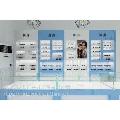 贵港眼镜店装修公司 贵港眼镜展柜定制制作 烤漆柜台生产厂家