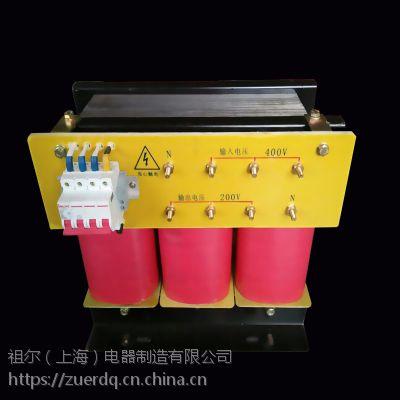 供应上海祖尔隔离变压器三相SBK-10KVA干式变压器