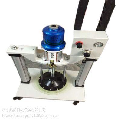 路邦机械SY-66220气动高粘度油脂加注机 双立柱超高压注油机