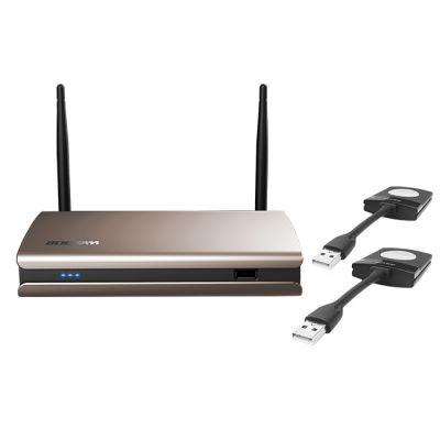 宝疆BOEGAM 一键联-无线联·享系统 无线会议系统 Y00 含一台主机和两个按钮