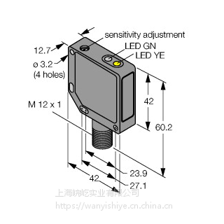图尔克光电开关RO10M-BRM42-VP6X2-H1141