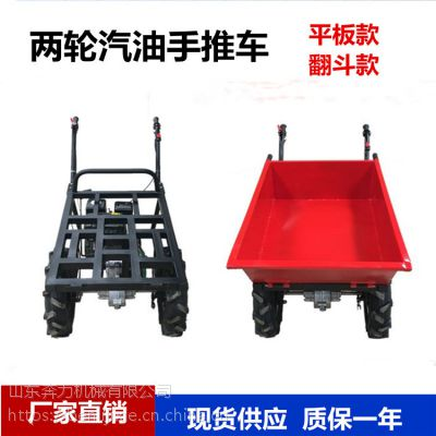 拉饲料的山地小推车 结实耐用手推燃油车 奔力SL-K09