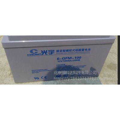 哈尔滨 COSLIGH光宇蓄电池6-GFM-100 促销价