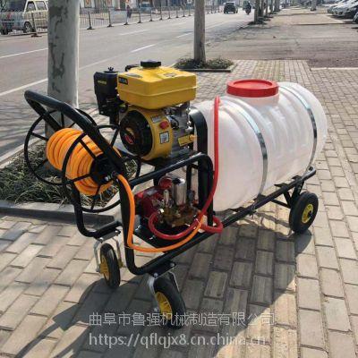 果树打药机哪里有 轻便200L果树喷雾机 高压拉管式打药机
