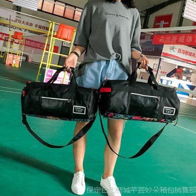 2018健身包女干湿分离游泳包鞋位运动男防水训练包短途旅行手提包
