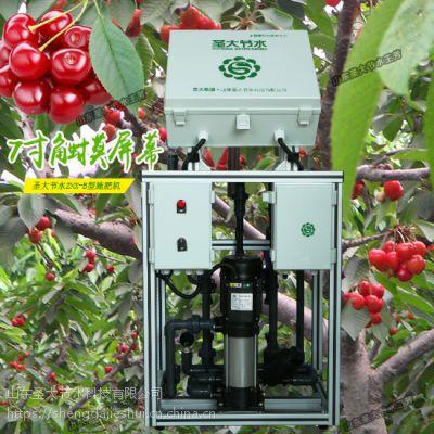 山西施肥机哪家好 大田樱桃水肥一体化自动施肥机智能触摸屏省事