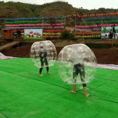 【充气碰撞球】广场亲子充气碰碰球怎么经营收益好