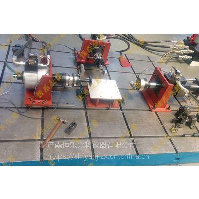 济南恒乐仪器专业制造 脉动疲劳试验机 汽车前后桥疲劳试验机 铁路轨枕疲劳试验台