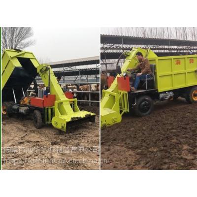 畜牧场粪便清理车 柴油不同立方刮粪车 石家庄牛场刮粪车