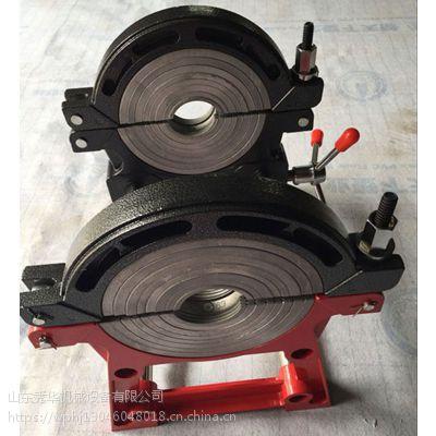 山东创铭牌CHMS160-63热熔对接焊机宽夹具pe管塑料熔管道专用机器设备