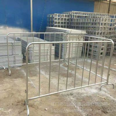 304不锈钢铁马护栏 大型活动专用高尚移动护栏 地铁安全出口不锈钢铁马