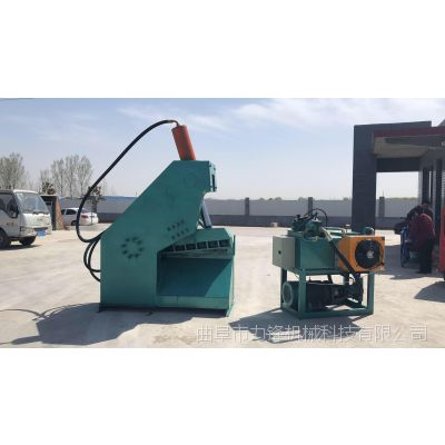 现货直销槽钢角铁剪切机 金属钢板切断机 快速大型废金属虎头剪