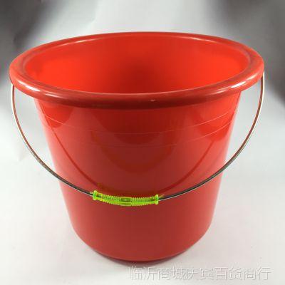 厂家直销塑料家用桶 学生用办公用桶 加厚耐摔 五元百货 货源