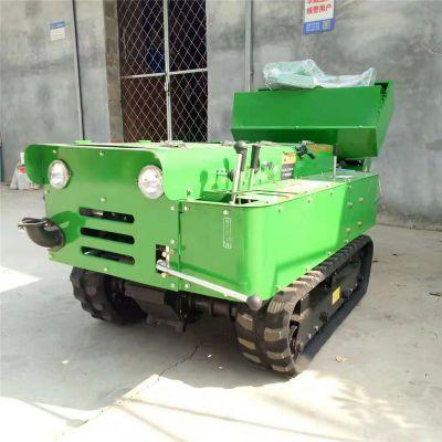 农用开沟回填机 果园自走的开沟机 履带式旋耕除草机