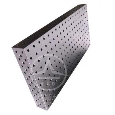 D28D16焊接工作台 三维柔性焊接组合工装夹具 钢件高精度焊接平台