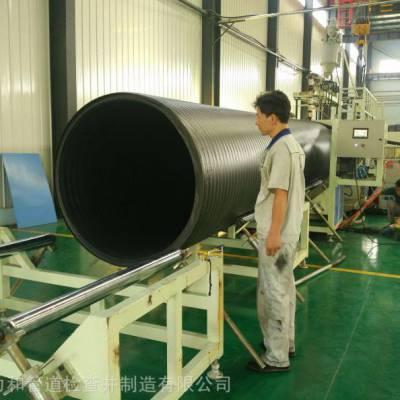 厂家生产pe中空壁缠绕管_力和管道地埋中空壁缠绕管