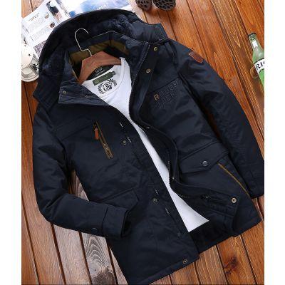 新款男式棉服冬季爆款羽绒棉衣男装保暖夹克版立领厚外套品牌尾货