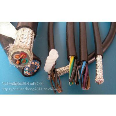 超高柔,耐弯折数据传输拖链电缆TRVVP 500万次