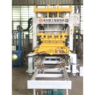 群工QT6-13型免烧砖机械设备价格 群工的砖机