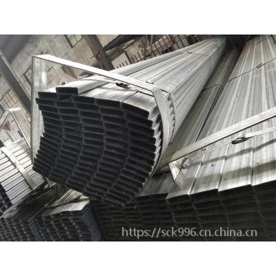 厂家加工定制钢结构20#无缝钢管 大口径无缝方管 Q235B方矩管