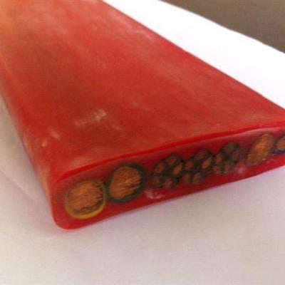 长峰YFGB 氟塑料绝缘硅橡胶护套扁平电力软电缆