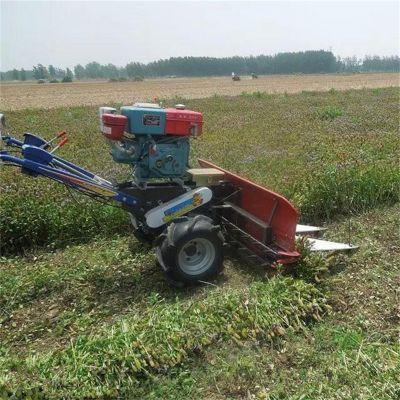 恒邦不跑偏型手扶收割机 小农场使用高羊茅收割机