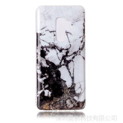 三星Galaxy S9手机壳 S9Puls 环保大理石tpu手机保护套