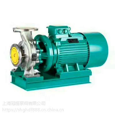 卧式离心泵ISW65-315B 22.5M3/H 扬程101M 临海冠桓泵阀供应