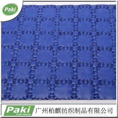 现货供应编织PU人造革 编织皮料 涂刮 油皮 包包皮革 PU皮革