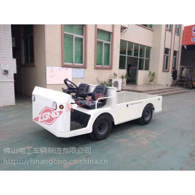 电动运输拖车 3吨无轨电动平板车