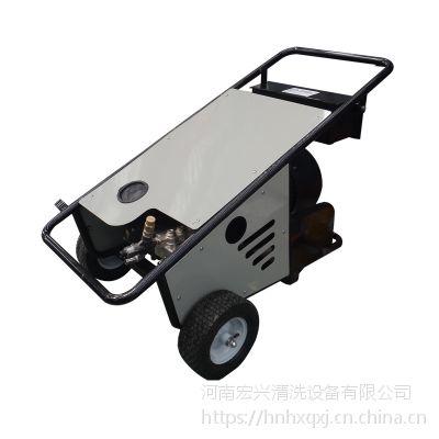宏兴350公斤大功率高压清洗机 手推轮移动式 道路高压管道疏通机