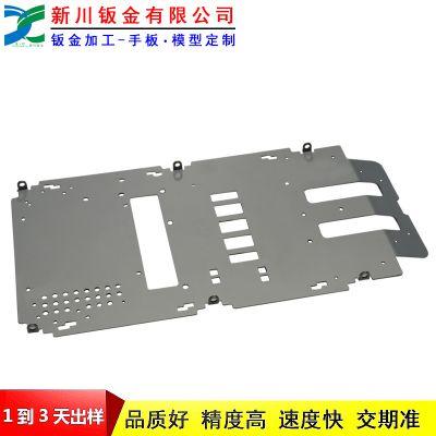 新川厂家直供xcbj18091303冷轧板挡板钣金加工定制