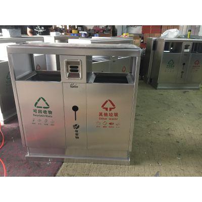 旬邑县塑料-不锈钢-镀锌板-金属垃圾箱原装现货|西安鑫中星