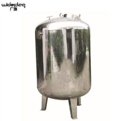 直销广旗牌 不锈钢双面抛光无菌纯水箱 果汁厂果汁饮料储蓄罐