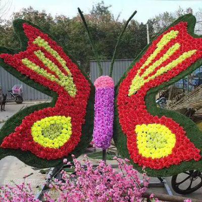 大型城市园林绿植人物仿真动物绿雕草皮摆件绿雕植物广场雕塑定制