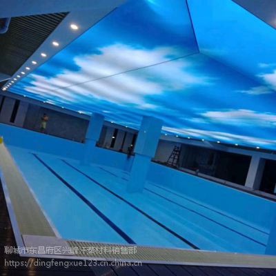 泳池胶膜和瓷砖那个投资大一些