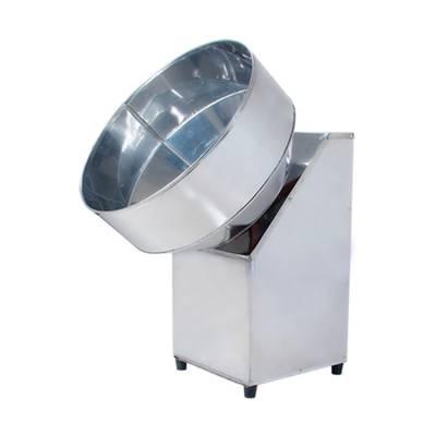 球形元宵机全自动滚圆汤圆机小型家用收口敞口不锈钢药丸机成球机乳白色65敞口元宵机