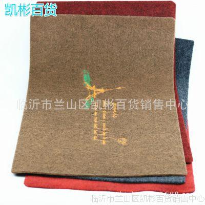 厚款拉绒刺绣花地垫 蹭蹭垫厨房浴室耐用防滑地毯门垫 10元货源