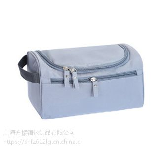 旅行便携收纳包双开化妆包袋厂家生产定做